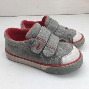See Kai Run Gray Jersey Heather Sneakers Size 6
